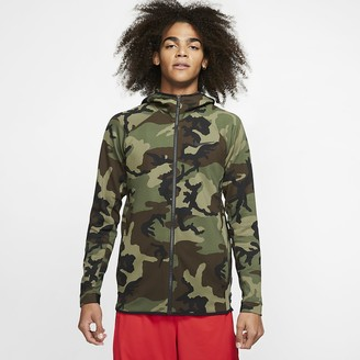 Nike Men's Printed Basketball Hoodie Therma Flex Showtime