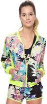 Juicy Couture Rainforest Floral Tricot Jacket
