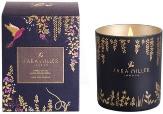 Sara Miller Amber, Orchid and Lotus Candle