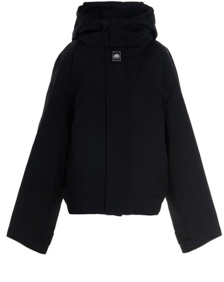 Balenciaga Oversized Hooded Jacket