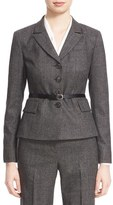 Nordstrom Women's Shadow Check Suit Jacket