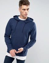 Asos Hoodie With Notch Neck