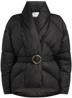 Frame Belted Puffer Jacket