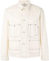 MAISON KITSUNÉ chevron worker jacket