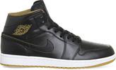 Nike jordan 1 mid-top leather trainers