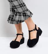 Asos TOPAL Wide Fit T-Bar Shoes