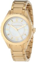 Kenneth Jay Lane Women's KJLANE-2206 Dial Gold Ion-Plated Stainless Steel Watch
