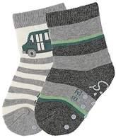 Sterntaler Baby Boys' Abs-Söckchen DP Bus Calf Socks