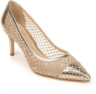 Badgley Mischka Floria Crystal Embellished Pump