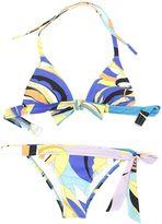 Emilio Pucci Maya Flower Print Bikini