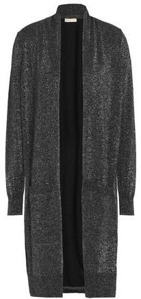 MICHAEL Michael Kors Metallic Cotton-Blend Cardigan