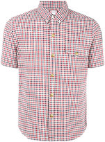 Moncler Gamme Bleu checked short sleeve shirt