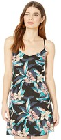 Roxy Print Be in Love Dress (Anthracite Tropicoco) Women's Swimwear