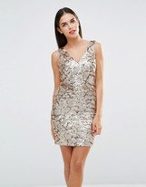 Forever Unique Indiana Sequin Mini Dress