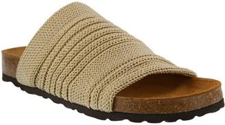 Spring Step Textile Slide Sandals - Noelena