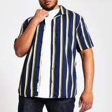 Mens Only & Sons Big and Tall Black striped shirt