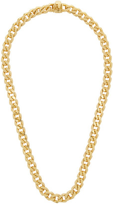 Emanuele Bicocchi Gold Edge Chain Necklace