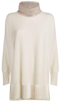 William Sharp Embellished Rollneck Sweater