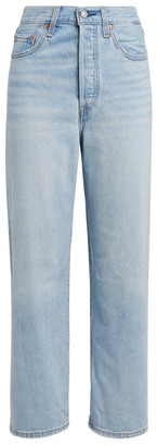 Levi's Ribcage Straight Cropped Jeans