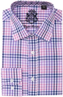 English Laundry Plaid Dress Shirt