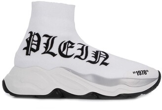 Philipp Plein white sock sneakers