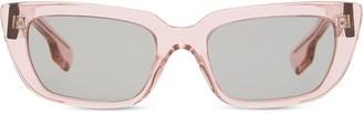 Burberry Eyewear Rectangular-Frame Sunglasses