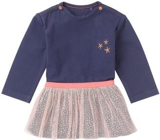 Noppies Baby and Kids Girls Dress Helena Dark Indigo