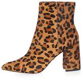 Heart leopard flare boot