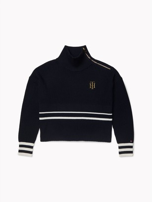 Tommy Hilfiger Varsity High Neck Sweater