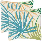 Safavieh Tropical Flower Throw Pillows in Tropical Blend (Set of 2)