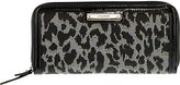 Nine West Glitter Mob Zip Around Wallet