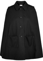 RED Valentino Twill Cape - Black