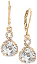 Giani Bernini Cubic Zirconia Infinity Drop Earrings in 18k Gold-Plated Sterling Silver, Only at Macy's