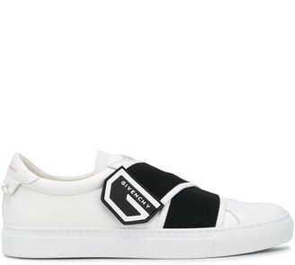 Givenchy Elasticated Logo Strap Sneakers
