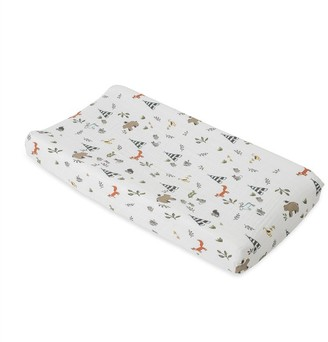 Little Unicorn Changing Pad Cover Forest Friends