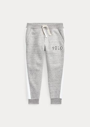 Ralph Lauren Logo Double-Knit Jogger Pant