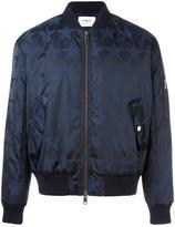 Ports 1961 tonal stars bomber jacket