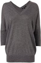 Derek Lam Batwing Sweater: Grey