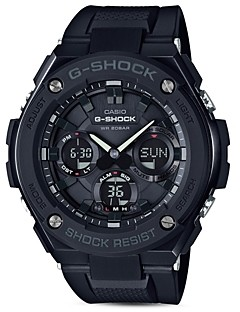 G-Shock Analog and Digital Combo Solar Strap Watch, 55.2mm