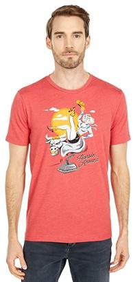 Original Penguin Graphic Ride Em T-Shirt (Cardinal) Men's Clothing