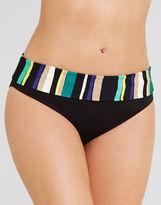 Figleaves swimwear Sorrento Stripe Fold Bikini Brief
