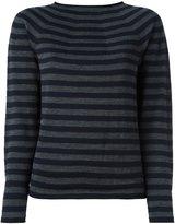 Comme des Garcons striped boat neck jumper