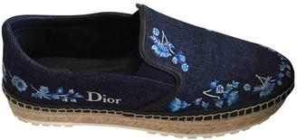 Christian Dior Blue Denim - Jeans Espadrilles