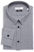 Versace Trend Gingham Dress Shirt
