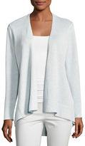 Eileen Fisher Organic Linen High-Low Cardigan