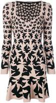 Alexander McQueen bird print dress