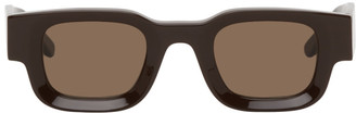 Rhude Brown Thierry Lasry Edition Rhevision Sunglasses