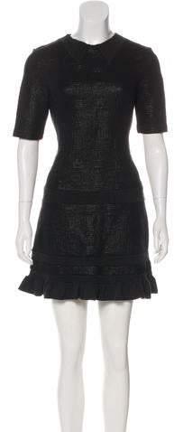 Kenzo Short Sleeve Mini Dress