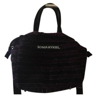 Sonia Rykiel Purple Velvet Handbags