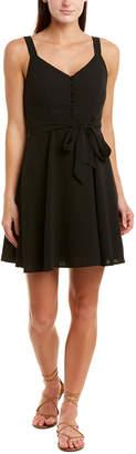Gilli Tie-Waist Mini Dress